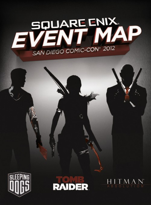 Square Enix Comic-Con Map