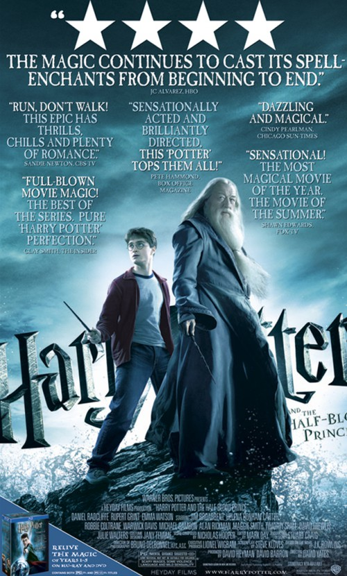HP6: The Half-Blood Prince