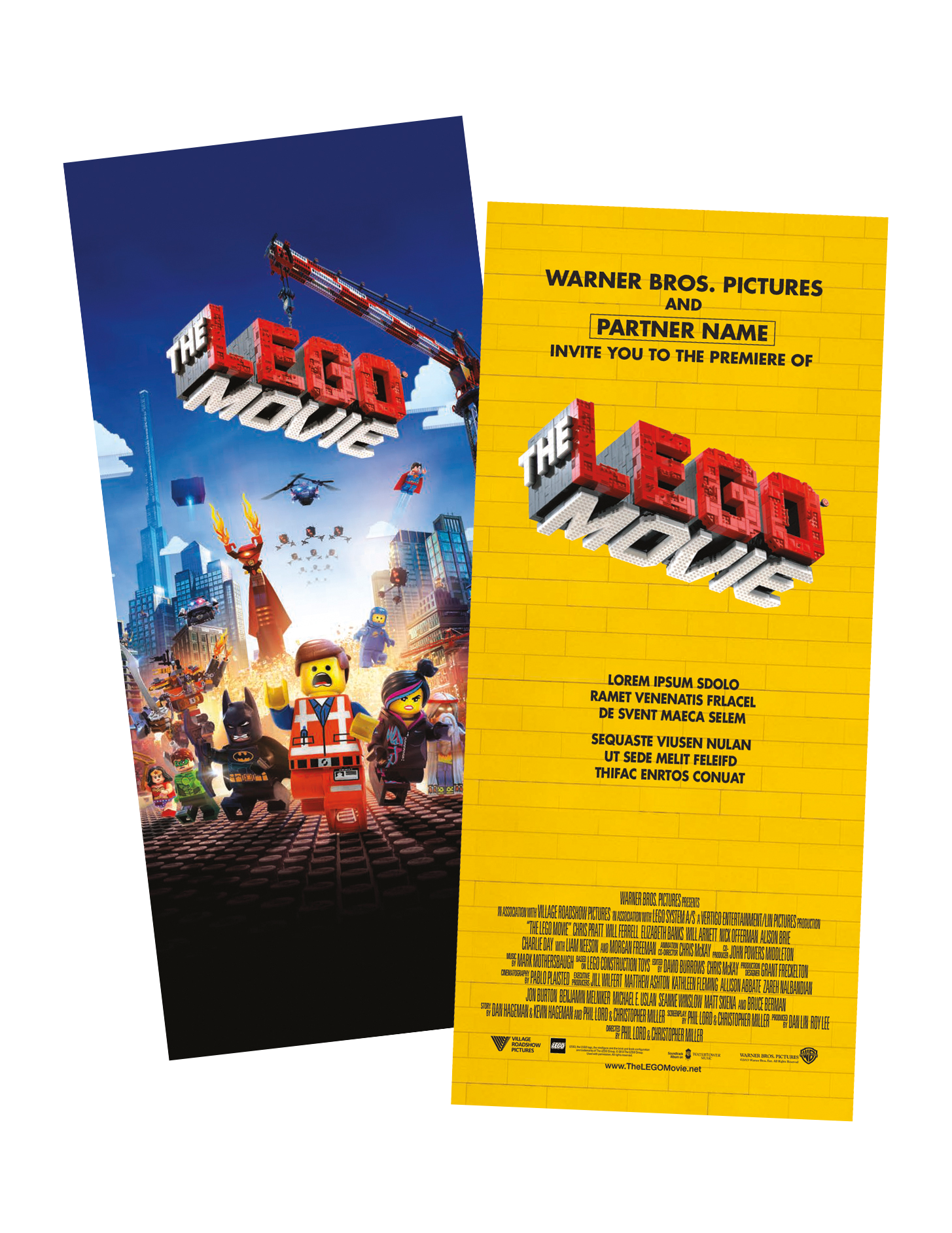 The Lego Movie The Crp Group